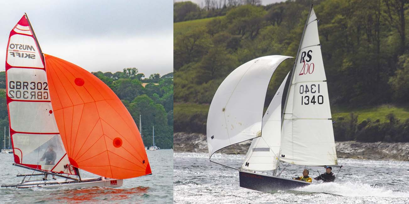 Turbo Asymmetric Open and Cornish RS200 Championships